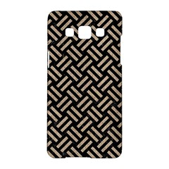 Woven2 Black Marble & Sand (r) Samsung Galaxy A5 Hardshell Case  by trendistuff