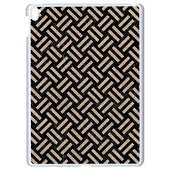 Woven2 Black Marble & Sand (r) Apple Ipad Pro 9 7   White Seamless Case by trendistuff
