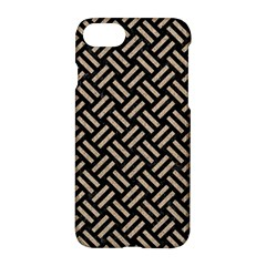 Woven2 Black Marble & Sand (r) Apple Iphone 8 Hardshell Case by trendistuff