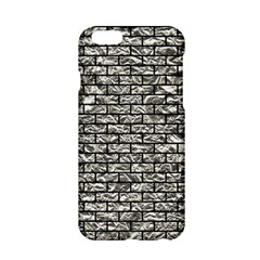 Brick1 Black Marble & Silver Foil Apple Iphone 6/6s Hardshell Case by trendistuff