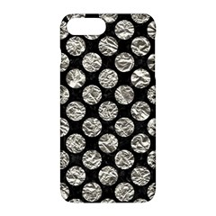 Circles2 Black Marble & Silver Foil (r) Apple Iphone 8 Plus Hardshell Case by trendistuff