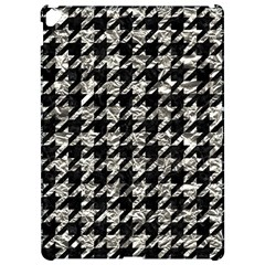 Houndstooth1 Black Marble & Silver Foil Apple Ipad Pro 12 9   Hardshell Case by trendistuff