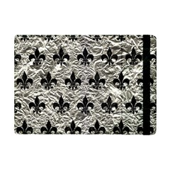 Royal1 Black Marble & Silver Foil (r) Ipad Mini 2 Flip Cases by trendistuff