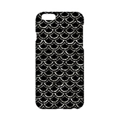 Scales2 Black Marble & Silver Foil (r) Apple Iphone 6/6s Hardshell Case by trendistuff