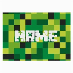 Minecraft Large Glasses Cloth by PhotoThisxyz