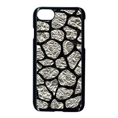 Skin1 Black Marble & Silver Foil (r) Apple Iphone 8 Seamless Case (black) by trendistuff