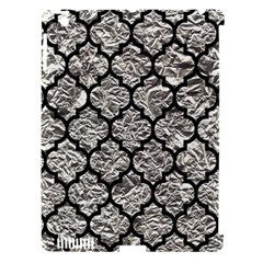 Tile1 Black Marble & Silver Foil Apple Ipad 3/4 Hardshell Case (compatible With Smart Cover) by trendistuff