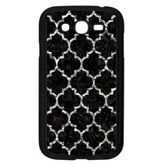 Tile1 Black Marble & Silver Foil (r) Samsung Galaxy Grand Duos I9082 Case (black) by trendistuff