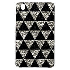 Triangle3 Black Marble & Silver Foil Samsung Galaxy Tab Pro 8 4 Hardshell Case by trendistuff