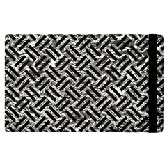 Woven2 Black Marble & Silver Foil Apple Ipad Pro 12 9   Flip Case by trendistuff