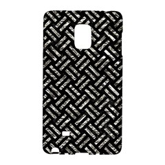 Woven2 Black Marble & Silver Foil (r) Galaxy Note Edge by trendistuff