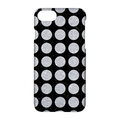 Circles1 Black Marble & Silver Glitter (r) Apple Iphone 7 Hardshell Case