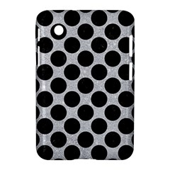 Circles2 Black Marble & Silver Glitter Samsung Galaxy Tab 2 (7 ) P3100 Hardshell Case  by trendistuff