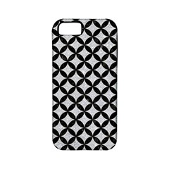 Circles3 Black Marble & Silver Glitter Apple Iphone 5 Classic Hardshell Case (pc+silicone) by trendistuff