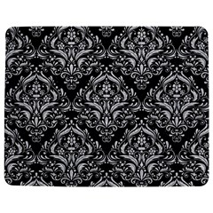 Damask1 Black Marble & Silver Glitter (r) Jigsaw Puzzle Photo Stand (rectangular) by trendistuff