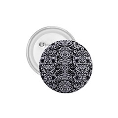 Damask2 Black Marble & Silver Glitter (r) 1 75  Buttons by trendistuff