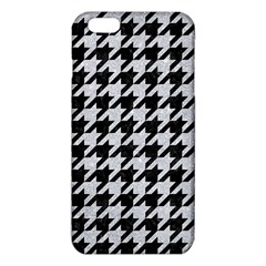 Houndstooth1 Black Marble & Silver Glitter Iphone 6 Plus/6s Plus Tpu Case by trendistuff
