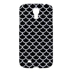 Scales1 Black Marble & Silver Glitter (r) Samsung Galaxy S4 I9500/i9505 Hardshell Case by trendistuff