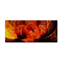 Ablaze With Beautiful Fractal Fall Colors Cosmetic Storage Cases by jayaprime