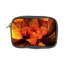 Ablaze With Beautiful Fractal Fall Colors Coin Purse by jayaprime