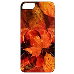 Ablaze With Beautiful Fractal Fall Colors Apple Iphone 5 Classic Hardshell Case by jayaprime