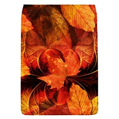 Ablaze With Beautiful Fractal Fall Colors Flap Covers (l)  by jayaprime