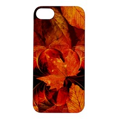 Ablaze With Beautiful Fractal Fall Colors Apple Iphone 5s/ Se Hardshell Case by jayaprime
