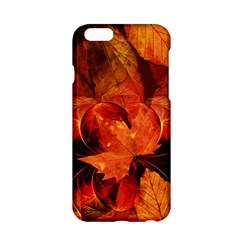 Ablaze With Beautiful Fractal Fall Colors Apple Iphone 6/6s Hardshell Case by jayaprime