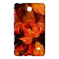 Ablaze With Beautiful Fractal Fall Colors Samsung Galaxy Tab 4 (8 ) Hardshell Case  by jayaprime