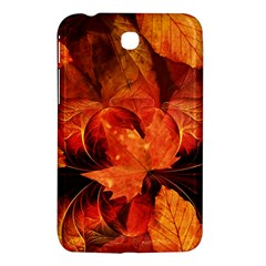 Ablaze With Beautiful Fractal Fall Colors Samsung Galaxy Tab 3 (7 ) P3200 Hardshell Case  by jayaprime