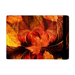 Ablaze With Beautiful Fractal Fall Colors Ipad Mini 2 Flip Cases by jayaprime