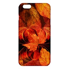 Ablaze With Beautiful Fractal Fall Colors Iphone 6 Plus/6s Plus Tpu Case by jayaprime