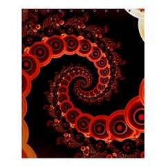 Chinese Lantern Festival For A Red Fractal Octopus Shower Curtain 60  X 72  (medium)  by jayaprime