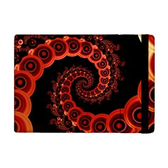 Chinese Lantern Festival For A Red Fractal Octopus Apple Ipad Mini Flip Case by jayaprime