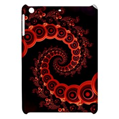 Chinese Lantern Festival For A Red Fractal Octopus Apple Ipad Mini Hardshell Case by jayaprime