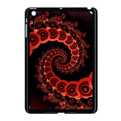 Chinese Lantern Festival For A Red Fractal Octopus Apple Ipad Mini Case (black) by jayaprime