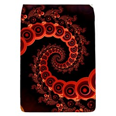 Chinese Lantern Festival For A Red Fractal Octopus Flap Covers (l)  by jayaprime