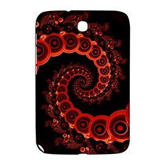 Chinese Lantern Festival For A Red Fractal Octopus Samsung Galaxy Note 8 0 N5100 Hardshell Case  by jayaprime