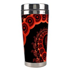Chinese Lantern Festival For A Red Fractal Octopus Stainless Steel Travel Tumblers by jayaprime