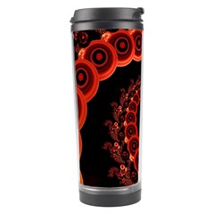 Chinese Lantern Festival For A Red Fractal Octopus Travel Tumbler by jayaprime