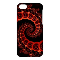 Chinese Lantern Festival For A Red Fractal Octopus Apple Iphone 5c Hardshell Case by jayaprime