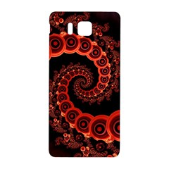 Chinese Lantern Festival For A Red Fractal Octopus Samsung Galaxy Alpha Hardshell Back Case by jayaprime
