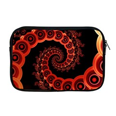 Chinese Lantern Festival For A Red Fractal Octopus Apple Macbook Pro 17  Zipper Case by jayaprime