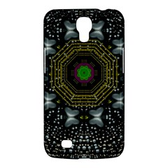 Leaf Earth And Heart Butterflies In The Universe Samsung Galaxy Mega 6 3  I9200 Hardshell Case by pepitasart