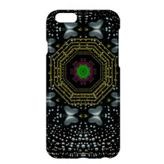 Leaf Earth And Heart Butterflies In The Universe Apple Iphone 6 Plus/6s Plus Hardshell Case by pepitasart