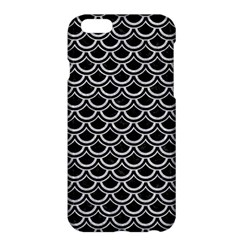 Scales2 Black Marble & Silver Glitter (r) Apple Iphone 6 Plus/6s Plus Hardshell Case by trendistuff