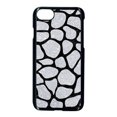 Skin1 Black Marble & Silver Glitter (r) Apple Iphone 7 Seamless Case (black) by trendistuff