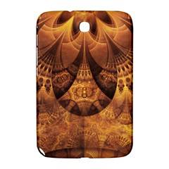 Beautiful Gold And Brown Honeycomb Fractal Beehive Samsung Galaxy Note 8 0 N5100 Hardshell Case  by jayaprime