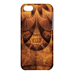 Beautiful Gold And Brown Honeycomb Fractal Beehive Apple Iphone 5c Hardshell Case by jayaprime