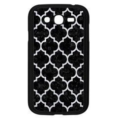 Tile1 Black Marble & Silver Glitter (r) Samsung Galaxy Grand Duos I9082 Case (black) by trendistuff